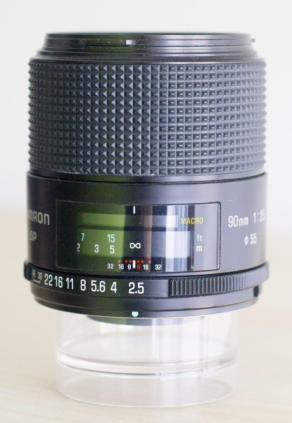Tamron SP 90mm f2.5 Macro 52BB