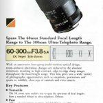 Tamron Adaptall 2 SP 60-300mm f3.8-5.4
